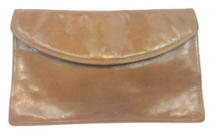 Bottega Veneta Brown Leather Clutch