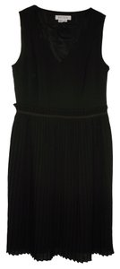 Kay Unger short dress Wool Silk Pleated Sheath Career on Tradesy