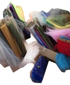 Wholesale Lot Tulle Bridal Tutu Pew Craft Wedding Many Colors Over 400 Yards