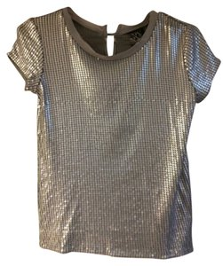 New York & Company Top Silver