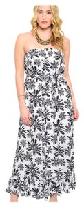 Black & White Maxi Dress by Other Plus Size Curvy Maxi Lightweight Summer