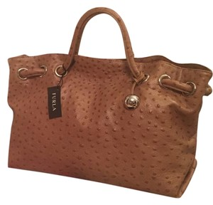 Furla Tote in Saddle Beige