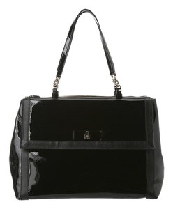 25d5671f39 Kate Spade Roomy Multiple Pockets Compartments Shiny Top Carrying Handles  With 8-1
