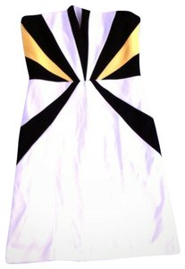 Rubber Ducky Productions, Inc. short dress White on Tradesy