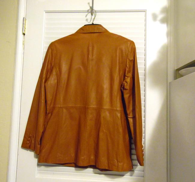 Terry Lewis Classic Luxuries Rust Leather Jacket Image 11