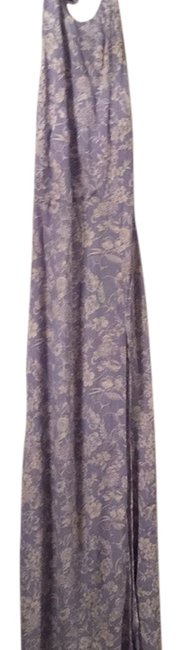 Item - Lilac Patterened Long Casual Maxi Dress Size 6 (S)