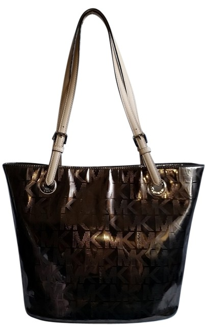 Item - Silver Leather Tote