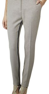Reiss Straight Pants Cream/Black