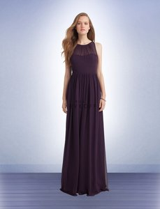 Bill Levkoff Plum 1147 Dress