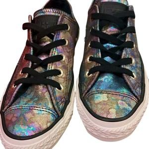 Converse Sneakers Leather Chucks All Star Iridescent Athletic