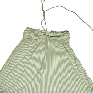 Abercrombie & Fitch Top Light green and white