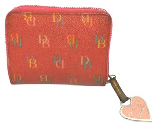Dooney & Bourke DOONEY AND BOURKE MONOGRAM CANVAS WALLET
