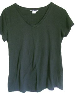 Forever 21 V-neck Womens 21 T Shirt Black