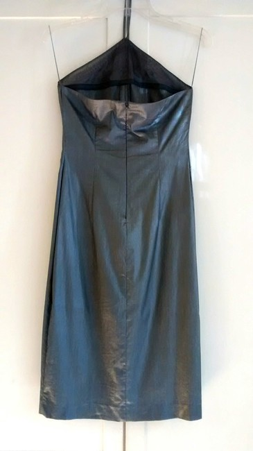 Guess Vintage Shine Metallic Fabric Dress Image 3