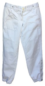 J.Crew City Fit Zippered Leg Khaki/Chino Pants Light Gray