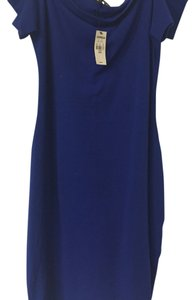 Express short dress Royal blue on Tradesy