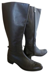 Lord & Taylor Leather Equestrian/riding Brown Boots