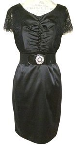 TCEC Belted Lace Dress