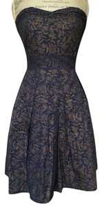 Delicia Blue Intricate Printed Dress