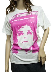 Hysteric Glamour Ciao Manhattan Andy Warhol Edie Sedgwick Retro T Shirt White