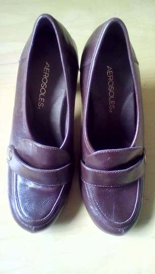 Aerosoles dark brown Pumps Image 3