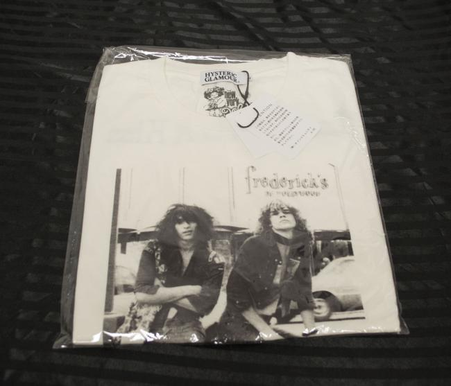 Hysteric Glamour Medium Men's Johnny Thunders New York Dolls 80s Music 80s Looking For A Kiss T Shirt White