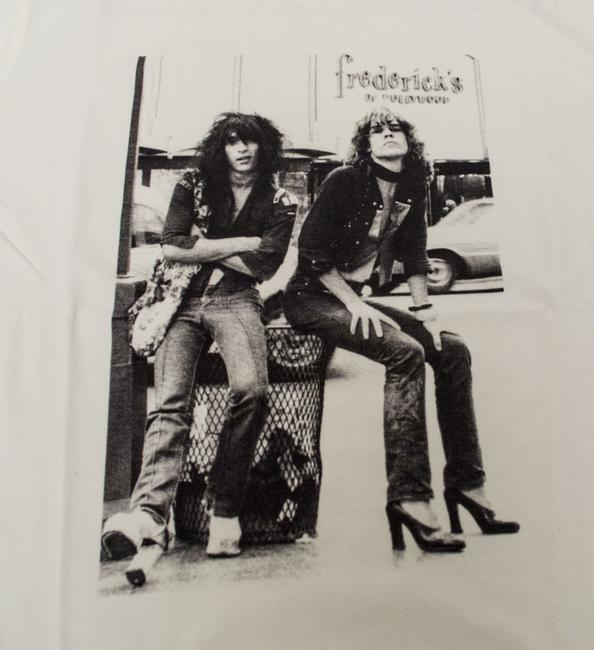 Hysteric Glamour Medium Men's T-shirt Johnny Thunders New York Dolls 80s Music 80s Looking For A Kiss T Shirt White