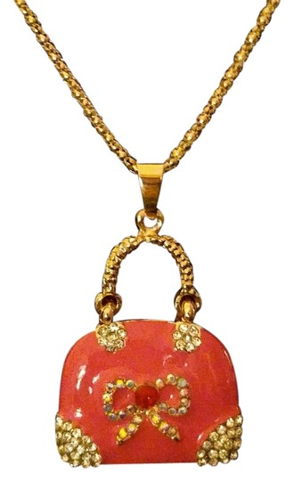 Preload https://img-static.tradesy.com/item/15055078/betsey-johnson-pink-gold-purse-a310-necklace-0-1-540-540.jpg