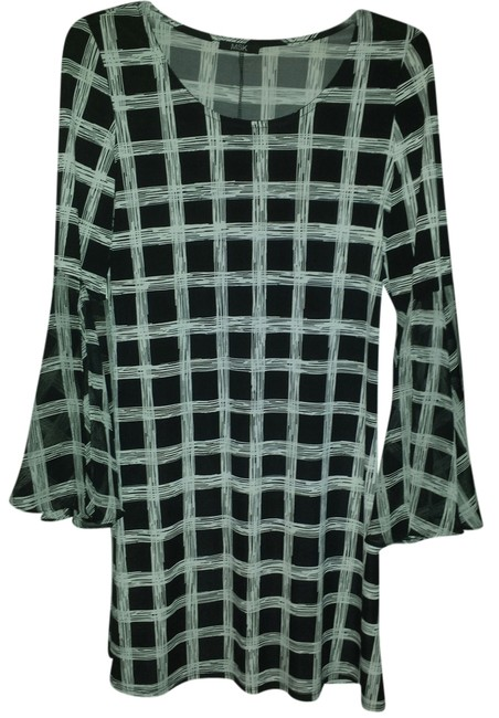 MSK Non Wrinkle Fabric Lined Flowing Sleeves Dress