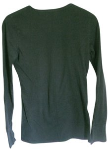 Mossimo Supply Co. Long Sleeve T Shirt Black