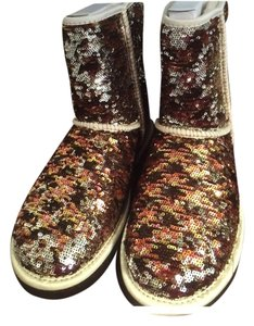 UGG Australia Brown, gold, silver Boots