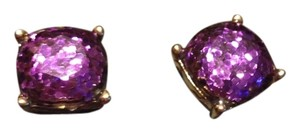 Other New in box large stud purple earrings