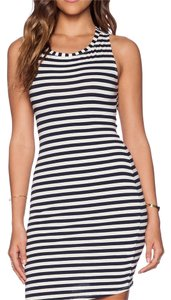 Capulet short dress Navy stripe on Tradesy