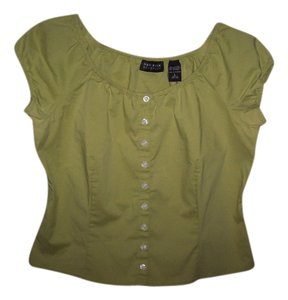New York & Company Top Green