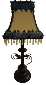 Shades Of Elegance The Cottage Rose Lamp & Shade