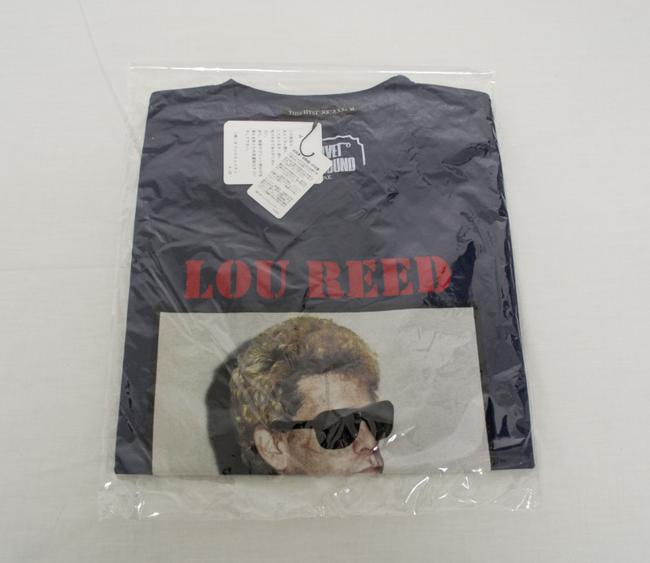 Hysteric Glamour Reed Rock Rock And Roll Organic Cotton Men's Medium T Shirt Blue