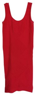 Guess Bodycon Stretchy Scoop Back Dress