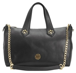 Juicy Couture Studded Embellished Designer Satchel in Black