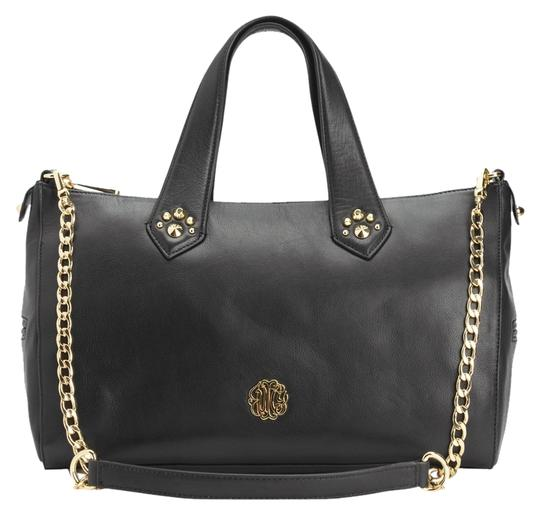 Preload https://item1.tradesy.com/images/juicy-couture-hollywood-black-leather-satchel-1505605-0-0.jpg?width=440&height=440