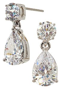 Nadri Nadri Cubic Zirconia Pear Drop Earrings