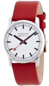 Mondaine Mondaine Red Simply Elegant Ladies Watch