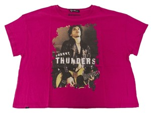 Hysteric Glamour Women's Crop T Shirt Pink
