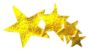 Premier Designs Premier Designs Broach Pin Gold Stars INV601`