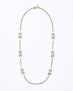 Ann Taylor Ann Taylor Marquis Crystal Long Necklace Niip