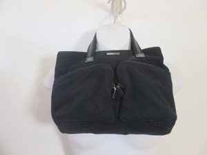 Gucci Brushed Cotton Satchel in black