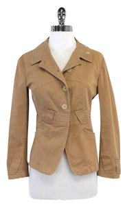 Jil Sander Tan Cotton Jacket