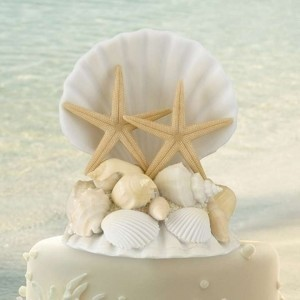 Sea Shell Free Shipping Cake Topper