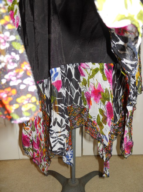The Pyramid Collection short dress multi color print Summer Sundress Sheer Light Flowy on Tradesy Image 11