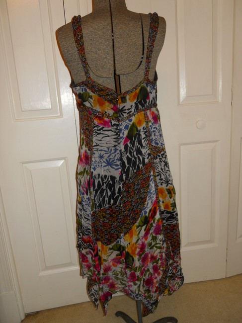 The Pyramid Collection short dress multi color print Summer Sundress Sheer Light Flowy on Tradesy Image 5