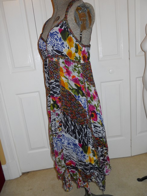 The Pyramid Collection short dress multi color print Summer Sundress Sheer Light Flowy on Tradesy Image 7